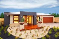 single story home facades - Google Search