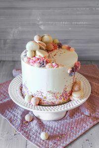 Geburtstagstorte - Ahalni Sweet Home Food Cakes, Cupcake Cakes, Cupcakes, Cake Disney, Disney Frozen, Homemade Chocolate Chip Cookies, Chocolate Cake, Beautiful Birthday Cakes, Cute Desserts