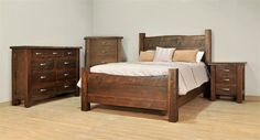 Shop the look - Ruff Sawn Live Edge Bedroom Suite Wood Bedroom Sets, Rustic Bedroom Furniture, Live Edge Furniture, Amish Furniture, Bedroom Ideas, Wood Furniture, Furniture Buyers, Layout, Wood Beds