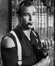 Marlon Brando in A Streetcar Named Desire,1951.