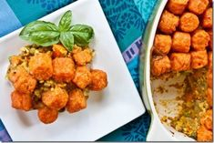 Curried Sweet Tater Tot Casserole
