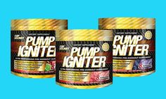 Buy One Get One Free: Top Secret Nutrition Pump Igniter Pre-Workout Supplements. Multiple Flavors.