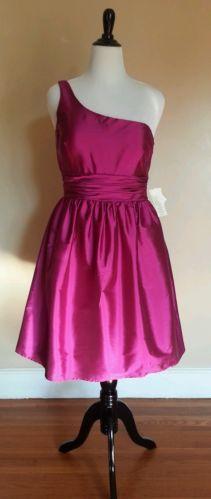 Eliza J Plum size 14 Wedding Guest Bridesmaids dress