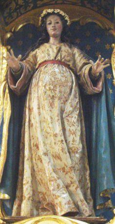 Virgen Maria Embarzada