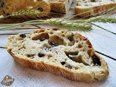 Ciabatta ( pâine italiană cu măsline ) | ritailies.ro