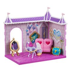 Animal Jam Princess Castle Den Playset