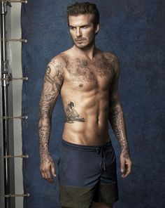David Beckham's swimwear collection.