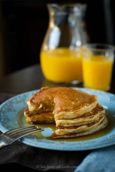 Believe it or not, veggies and comfort food go hand-in-hand. Just try this sweet potato pancake #recipe.