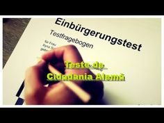 O Teste de Cidadania Alemã - 33 Perguntas e Respostas - YouTube
