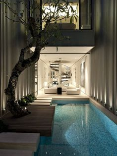 That's 21 extremely gorgeous swimming pool design. Exactly how do you consider all the above pool layouts? Hope you find a great deal of inspiration right here. Luxury Swimming Pools, Luxury Pools, Indoor Swimming Pools, Lap Swimming, Backyard Pool Designs, Swimming Pool Designs, Pool Landscaping, Container Home Designs, Container Homes
