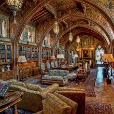 The highlight gothic studio, Hearst Castle California.