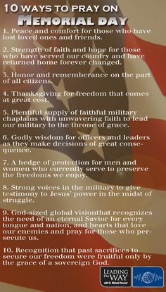 Memorial Day Prayer - Pray for America - Leading The Way Christian Quotes About Life, Christian Life, Pray For America, God Bless America, Memorial Day Prayer, Importance Of Prayer, God Bless Us All, Little Prayer, Catholic Prayers