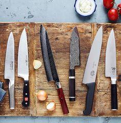 Japanese Cooking Knives, Japanese Kitchen Knives, Japanese Chef, Cooks Knife, Chef Knife, Messer Diy, Knife Photography, Best Pocket Knife, Pocket Knives