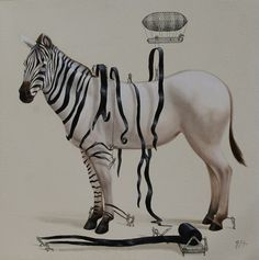 Ricardo Solis | DRESSING THE ZEBRA