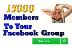 For only $5, I will add 15000 Real And Active Facebook Group Members Plus Bonus. | Hi, Please Check Out The Extra Bonuses Delivered With This Order.I will be telling you exactly how to add ALL friends from ALL accounts to | On Fiverr.com