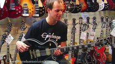 Paul's dream guitar: Gibson Les Paul Custom Ebony demo - Nick from Gibson at Nevada Music UK