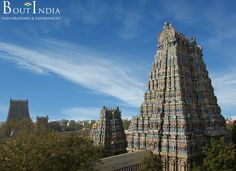 Could you have imagined 11 stories, 66m tall skyscraper temples covering 10 hectares of area and about 1200 years old!!!   #India #Temple #Madurai #MeenakshiTemple #TamilNadu