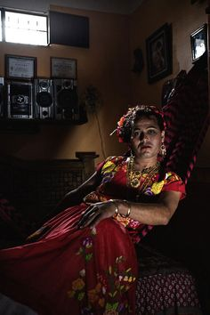 Striking Portraits of Muxes, Mexico's 'Third' Gender