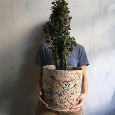 Artist's tree planter