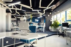 Quirky Spaceship as Game Studio Office by Ezzo Design - http://freshome.com/2013/11/07/quirky-spaceship-game-studio-office-ezzo-design/