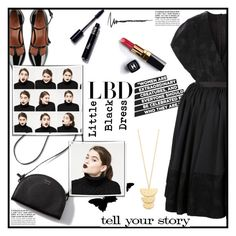 """""""Untitled #1276"""" by sibanesly ❤ liked on Polyvore featuring Jonathan Cohen, RED Valentino, Gorjana, Chanel, Tim Holtz, Garance Doré and LBD"""