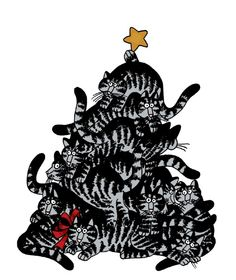 Kliban Cats Christmas Tree