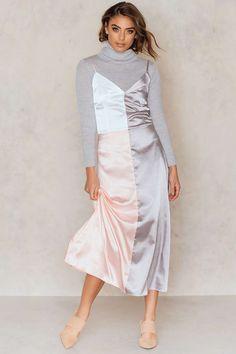SPRING Patchwork colour Silk Dress Midi Rose Blue Silver off the shoulder casual party cute modest edgy over 40 winter #SPRING heels tights classy casual size boho teens home coming #ZigfridFatal fashion outfits $ https://www.mavenx.com/mixpanel-track?url=http%253A%252F%252Fclick.linksynergy.com%252Fdeeplink%253Fid%253DC*xXRSCZu*Q%2526mid%253D41770%2526u1%253DNj3G2uYJJDiEuWN6P%2526murl%253Dhttps%25253A%25252F%25252Fna-kd.com%25252Fpatchwork-silk-dress-multi&productId=Nj3G2uYJJDiEuWN6P