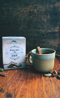 Rooty and Spicy . Winter Spice Herbal Tea from Mountain Rose Herbs Mountain Rose Herbs, Perfect Cup Of Tea, Organic Living, Eat To Live, Non Alcoholic Drinks, Herbal Tea, Teas, Eating Well, Tea Time