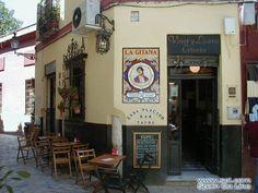 Tipico bar de tapas (Sevilla). Truck Restaurant, Restaurant Ideas, Andalucia Spain, Andalusia, Tapas Bar, Places Ive Been, Spanish, Gallery Wall, Dreams