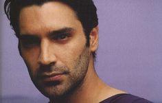 christos papakaliatis Greek Beauty, Dark Hair, Actors & Actresses, Famous People, Hot Guys, Beautiful People, Eye Candy, Eyes, Celebrities