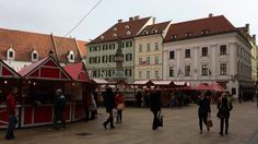 The Christmas markets in #Bratislava city are in full swing now.