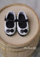 [Cat's Gift] England style shoes bjd YO-SD 1/6 girl doll use black
