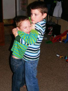 Hug It Out #Parenting