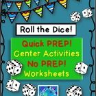 This product is great for differentiated learning!    This purchase contains what you will need for game/ center activity along with assessment wor...