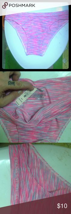 Victoria's Secret Pink, Gray and white M panties Soft, cute and comfy! New with tags like all of my Victoria's Secret listings! Victoria's Secret Intimates & Sleepwear Panties