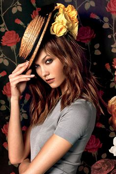 Karlie Kloss in the Moda Operandi La Vie en Rose campaign