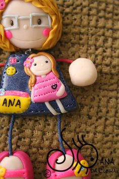 Mundo das Bonecas * Joana da Cunha: Bonecas Educadoras de Infância, Auxiliares e Cozinheira do Colégio/Infantário