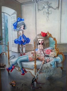BetweenMirrors.com | Alt Art Gallery: Nataly Abramovich – The Art of KuKula