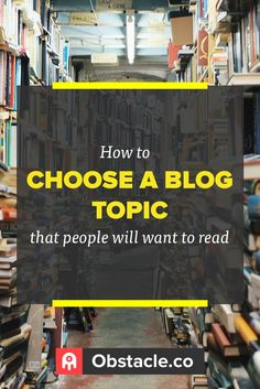 Finding a topic to blog about doesn't have to be difficult. With some basic research you can narrow down what to blog about and be well on your way to blogging awesomeness.
