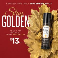 Don't settle for silver when you could have gold. Our unique blend of argan and essential oils combine with rich shea butter and protecting sunflower seed wax that add radiance and energy to help soften your skin and preserve your youthful look. Smooth over eyes and face as needed. Go for the gold! As Good As Gold Skin Stick