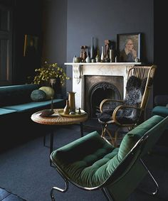 How To Decorate Your Small Space For Fall — Tips From The Pros #refinery29 http://www.refinery29.com/small-space-designer-solutions