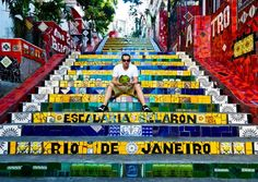 Rio de Janeiro, Brazil stairs