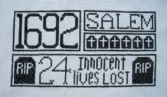 Halloween Cross Stitch Pattern $7.00