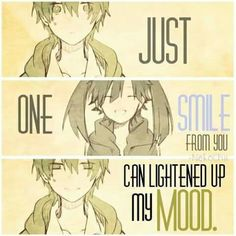 That one smile from her/him <3