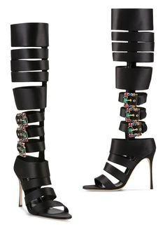 Bottes Zebra Lux signées Sergio Rossi, Collection Croisière 2017 Sergio Rossi, Catwalk, Valentino, Pairs, Sandals, Heels, Collection, Fashion, Shoe