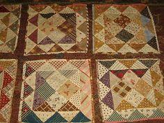 Beautiful Antique Quilt Squares | eBay