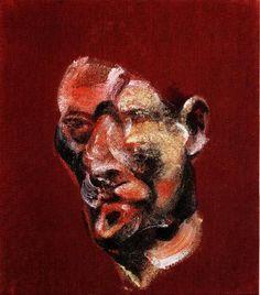Lucian Freud por Francis Bacon