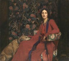 George Spencer Watson, Hilda and Maggie, 1911; Tate Britain, London