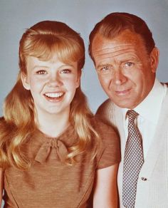 Hayley Mills and father John Mills