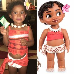 Baby Princess Moana Halloween Costume